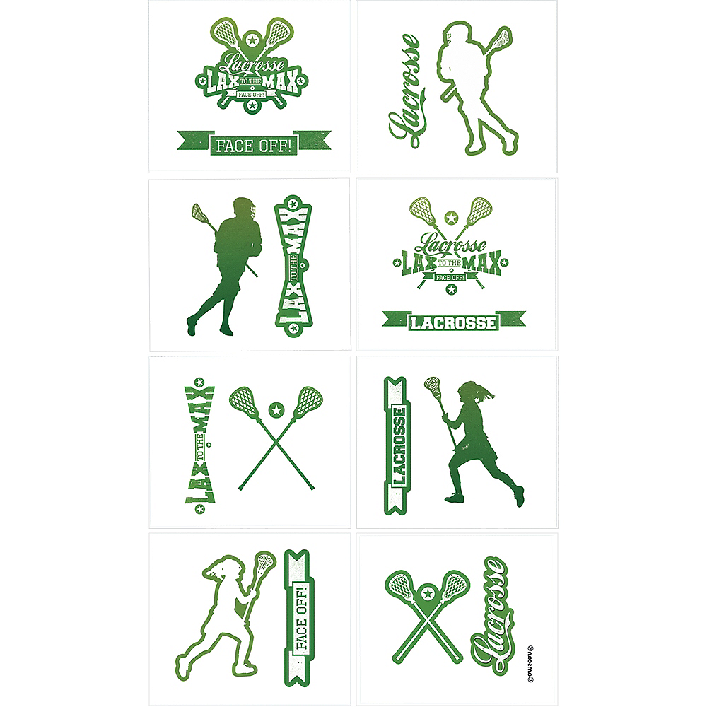 Lacrosse Tattoos 1 Sheet Image #1