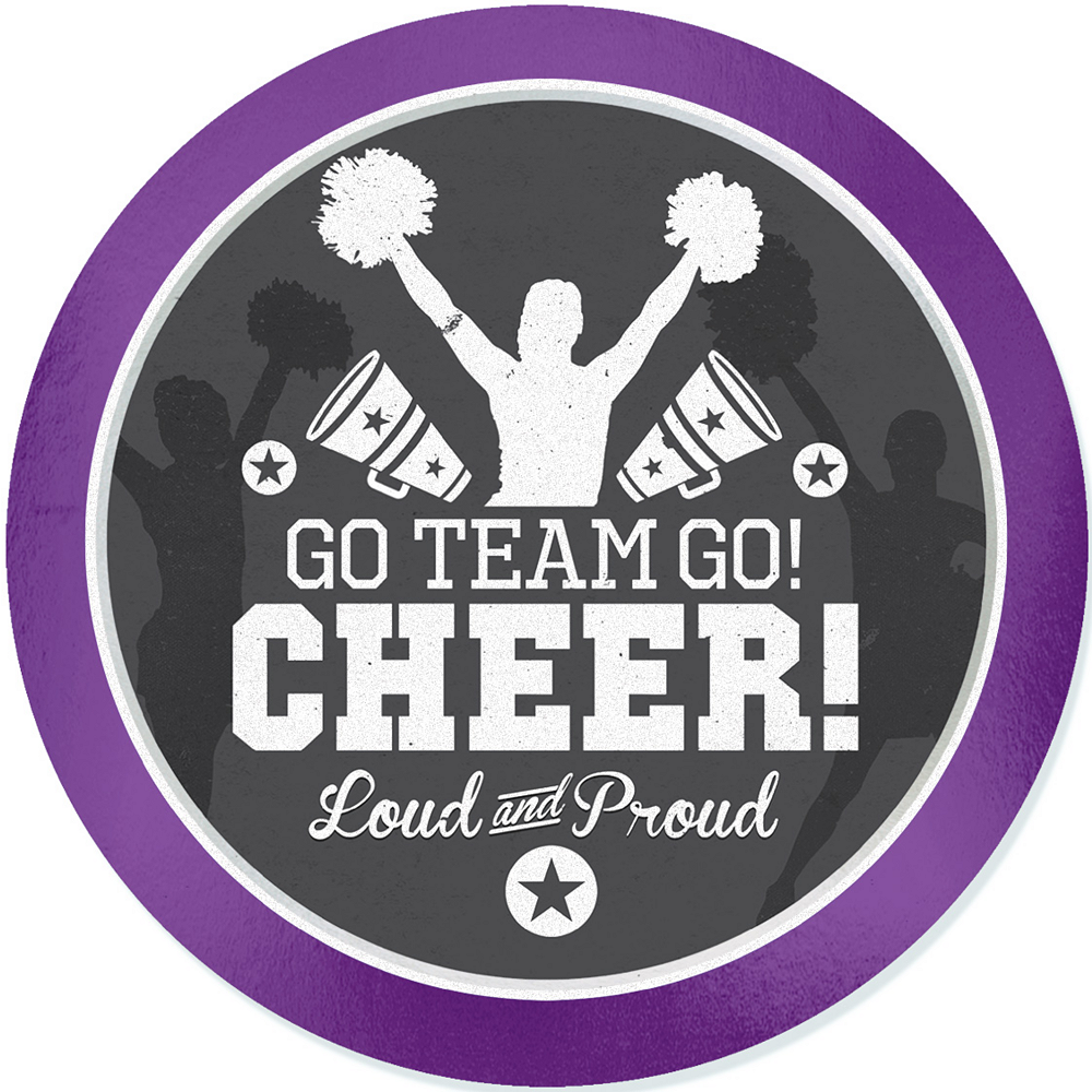 Cheer Decal Image #1