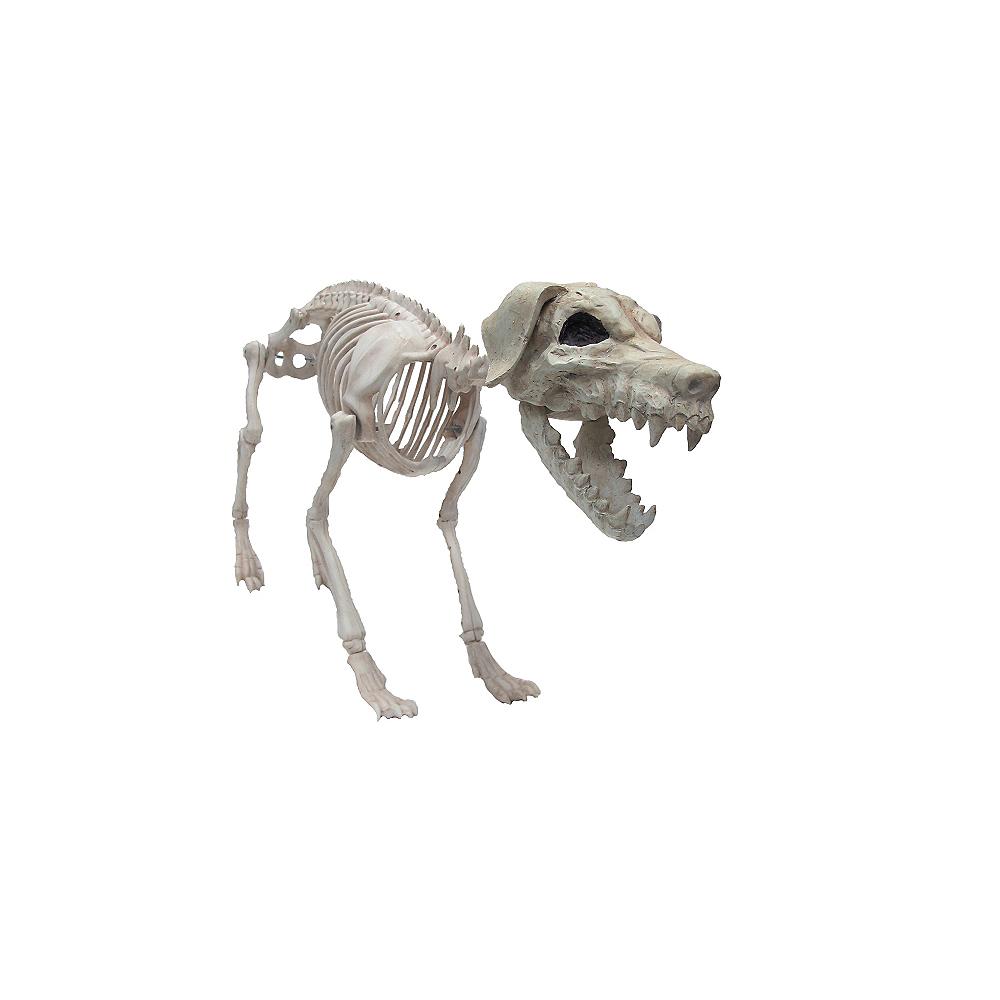 Giant Poseable Skeleton Dog Party City