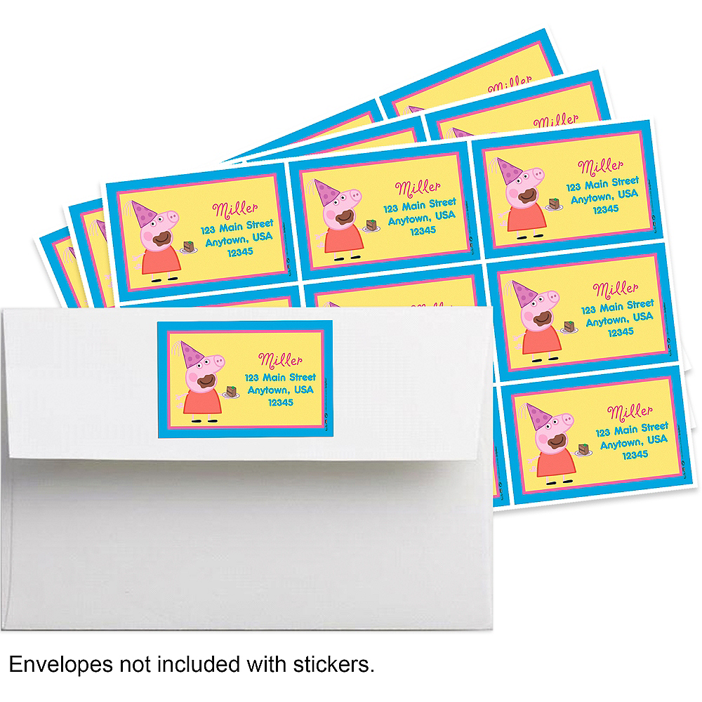 Custom Peppa Pig Sticker Image 1