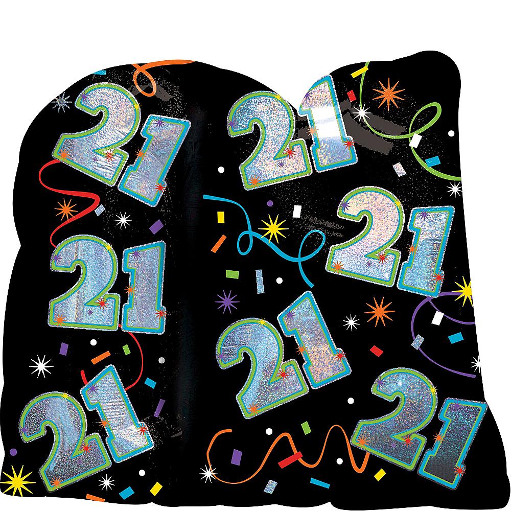 Brilliant 21st Birthday Balloon 27in X 26in