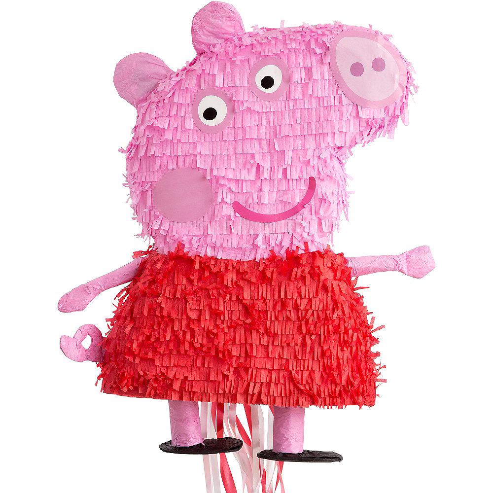 Pull String Peppa Pig Pinata 18in X 23in Party City