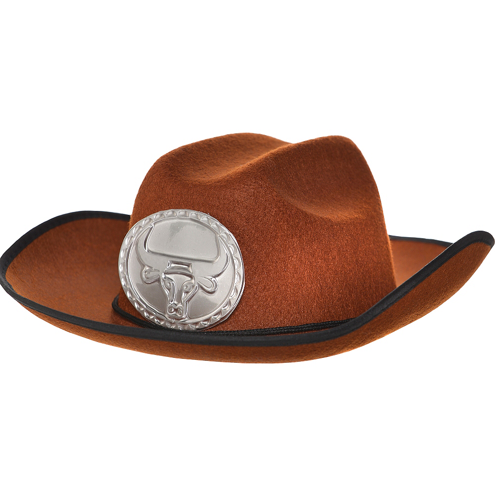 Child Brown Cowboy Hat Image #1