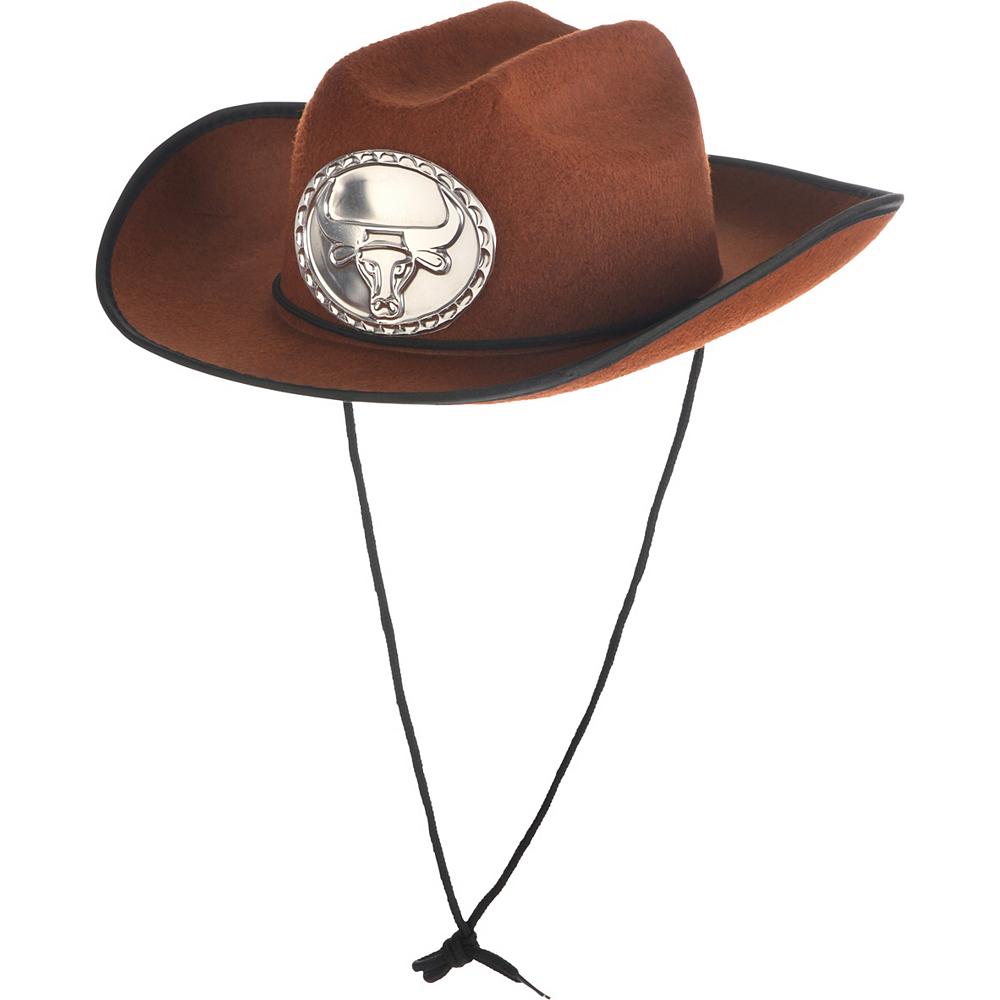 Child Brown Cowboy Hat Image #2