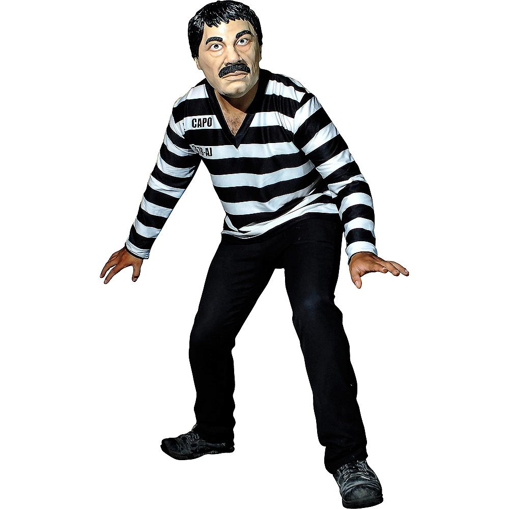 El Capo Inmate Costume Kit 2pc Image #1