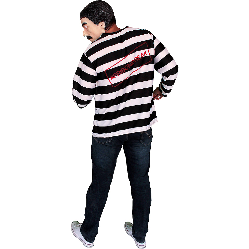 El Capo Inmate Costume Kit 2pc Image #2