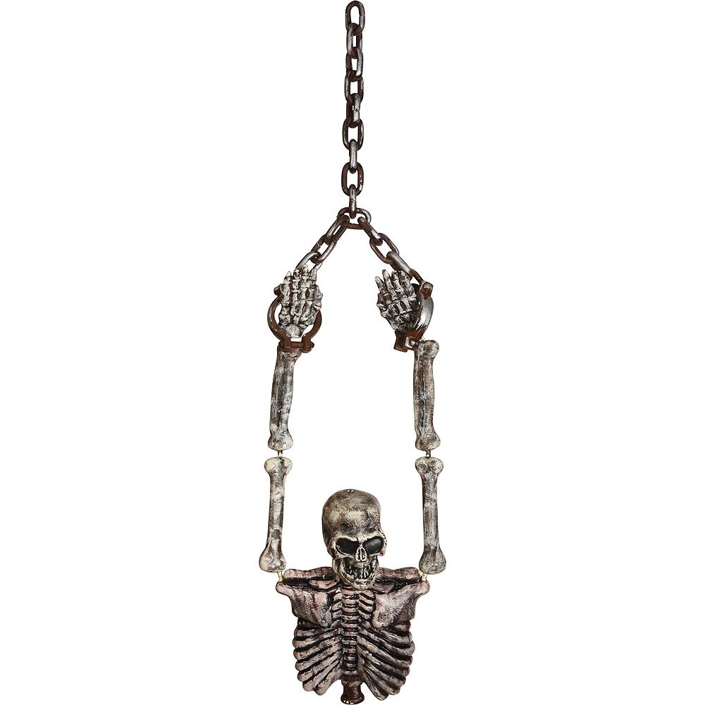 Hanging Shackled Skeleton Torso Image #1