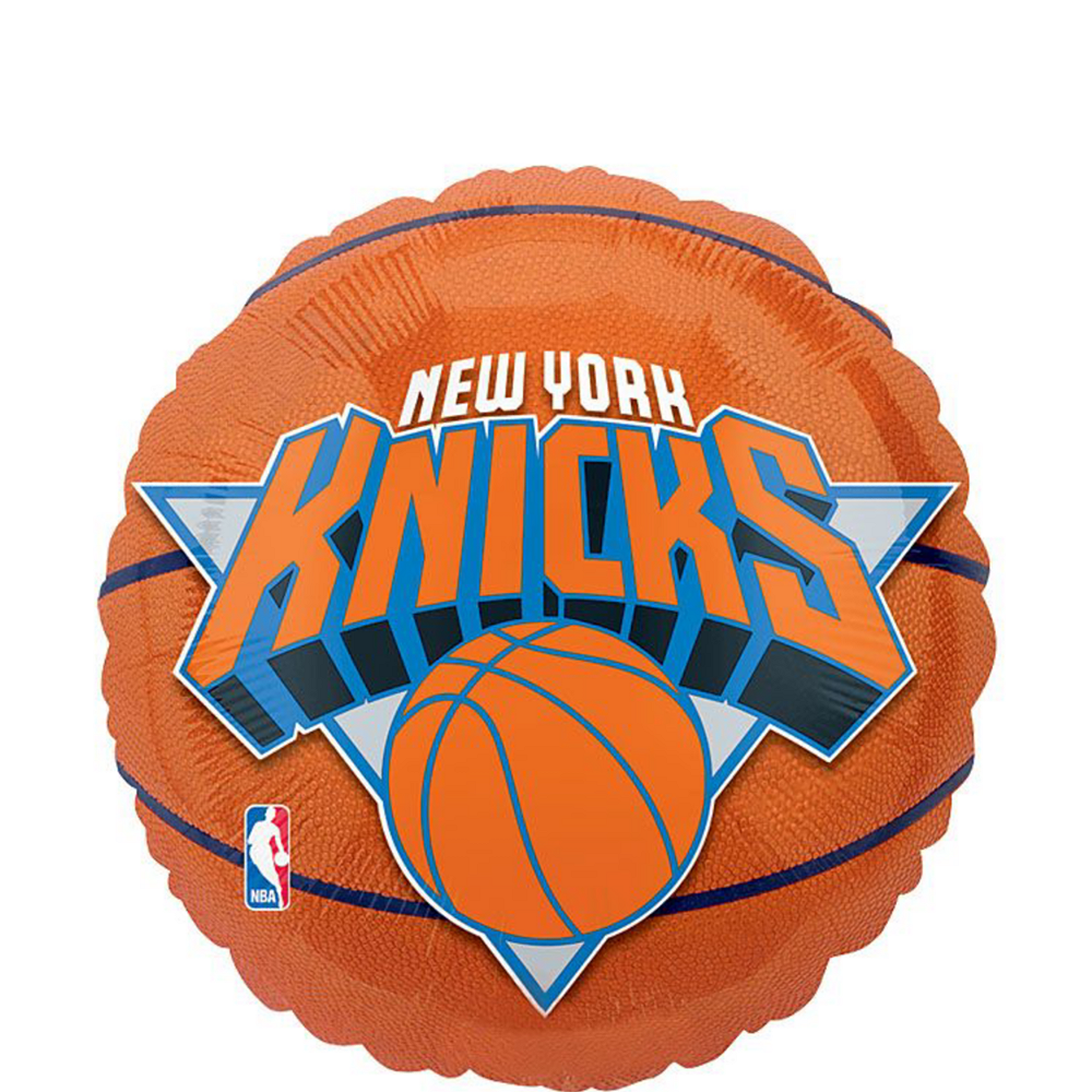 New York Knicks Balloon Bouquet 5pc - Basketball Image #2