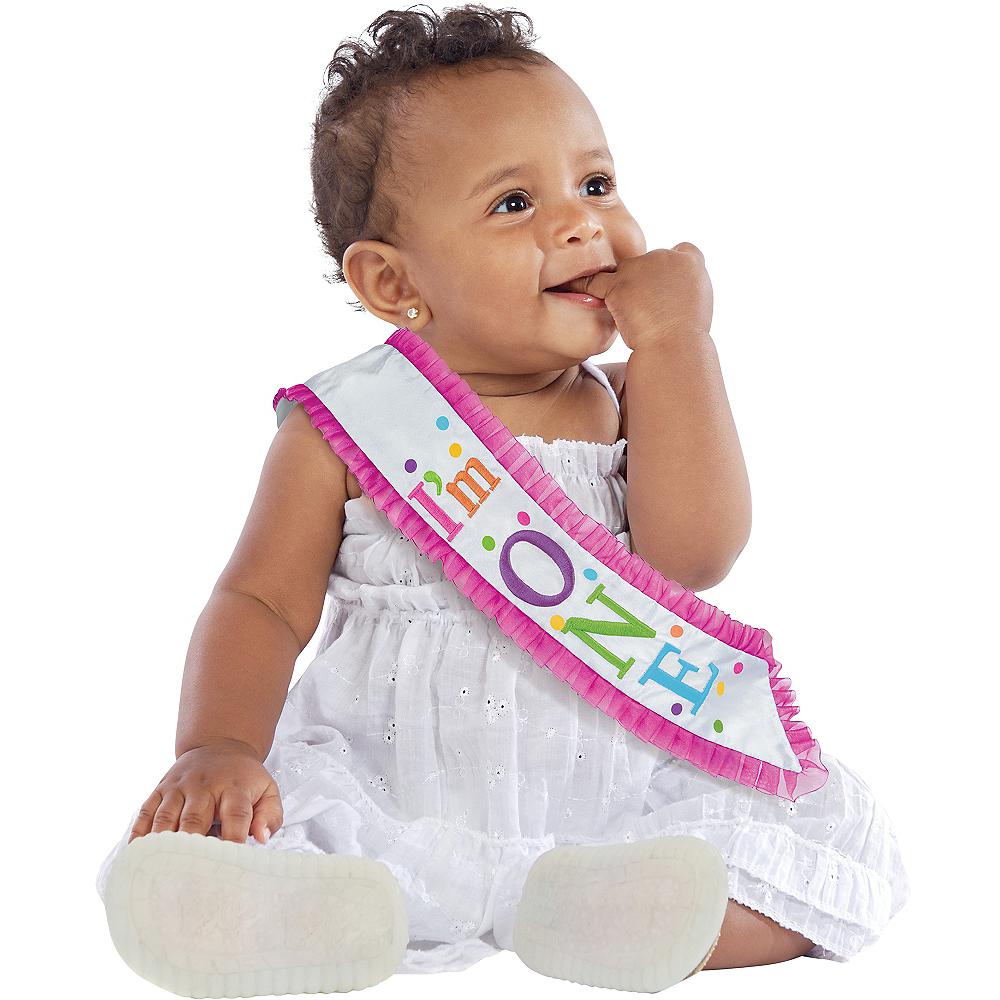 I'm One 1st Birthday Sash Image #1