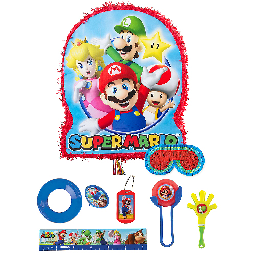 Nav Item for Super Mario Pinata Kit with Favors Image #1