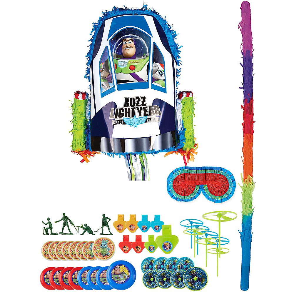 Buzz Lightyear Pinata Kit with Favors - Toy Story Image #1