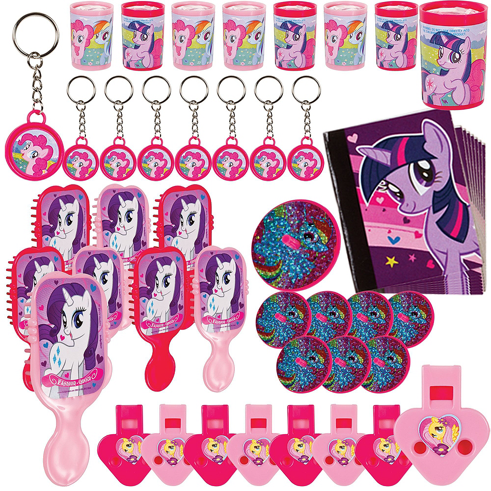 Pink My Little Pony Pinata Kit with Favors Image #4