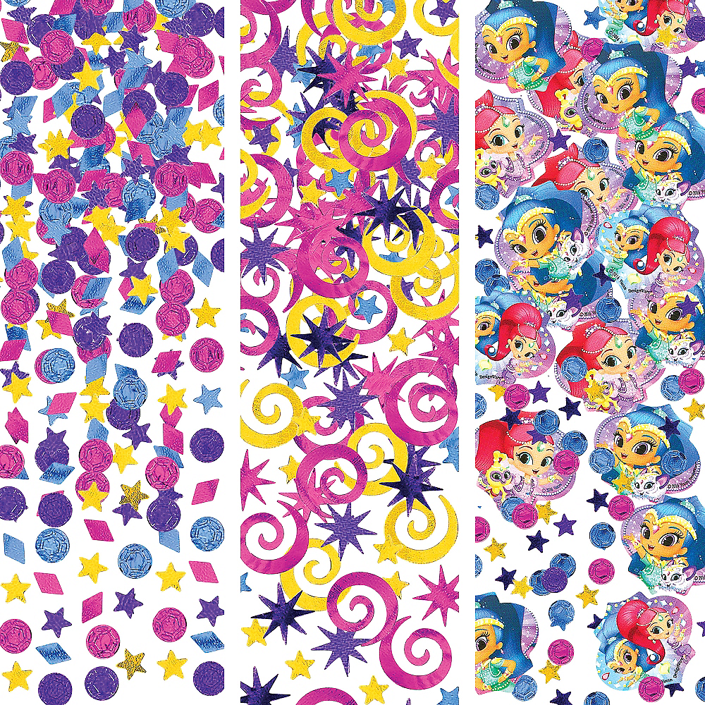 Shimmer and Shine Confetti Image #1