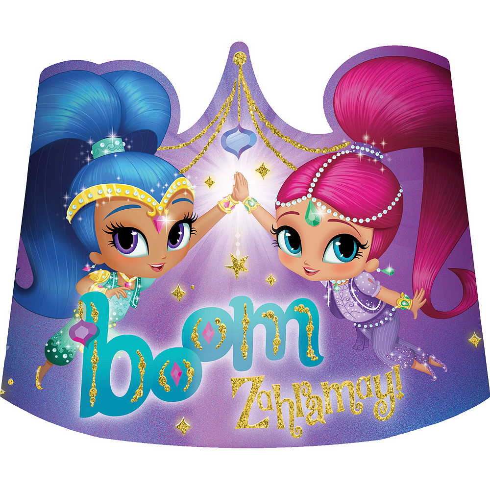 Shimmer and Shine Tiaras 8ct Image #1