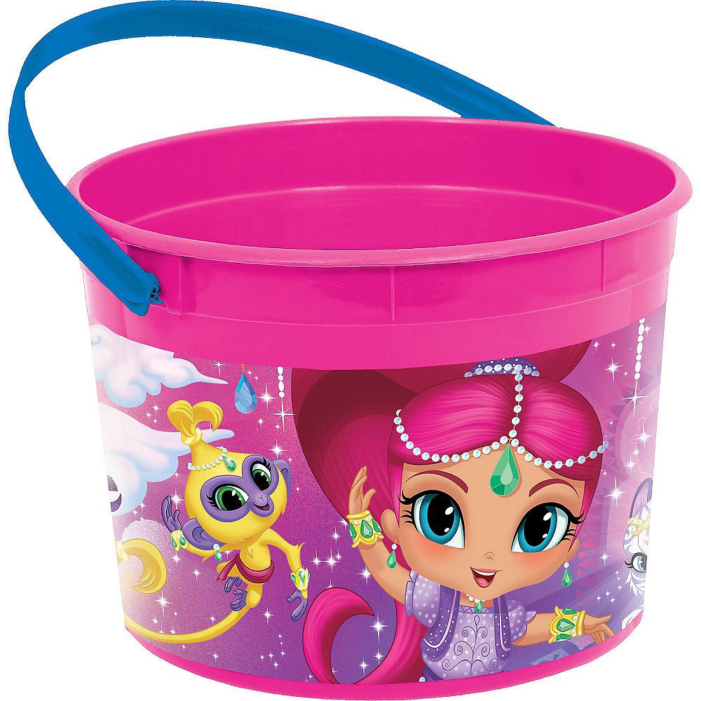 Shimmer and Shine Favor Container Image #1