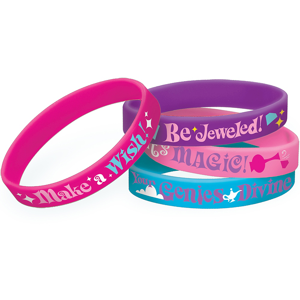Shimmer and Shine Wristbands 4ct Image #1