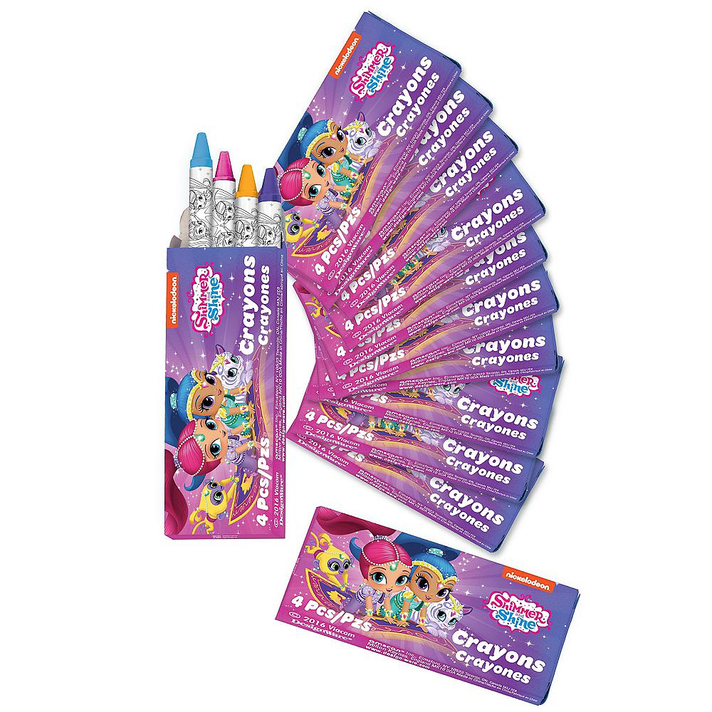 Shimmer and Shine Crayon Boxes 12ct Image #1