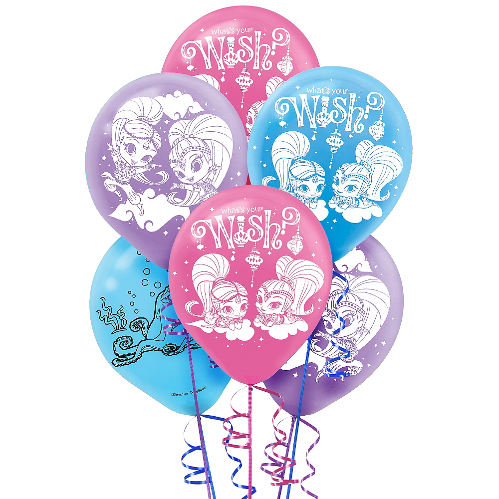 Shimmer and Shine Balloons 6ct Image #1