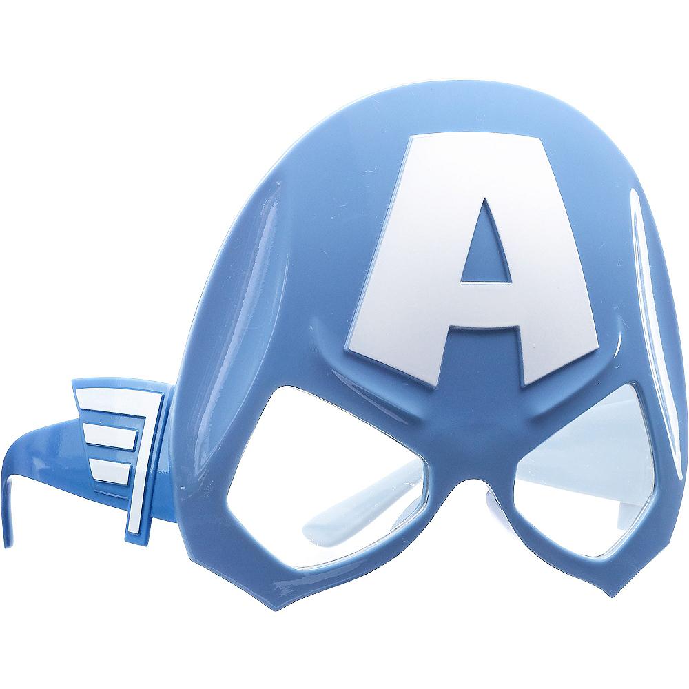 Child Captain America Glasses Image #2