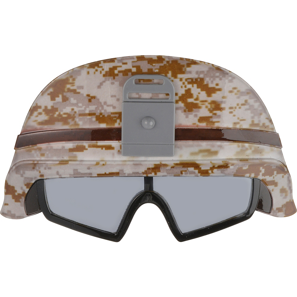 Child Army Helmet Sunglasses Image #1