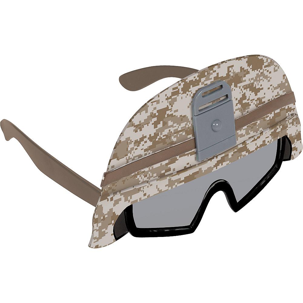 Child Army Helmet Sunglasses Image #2
