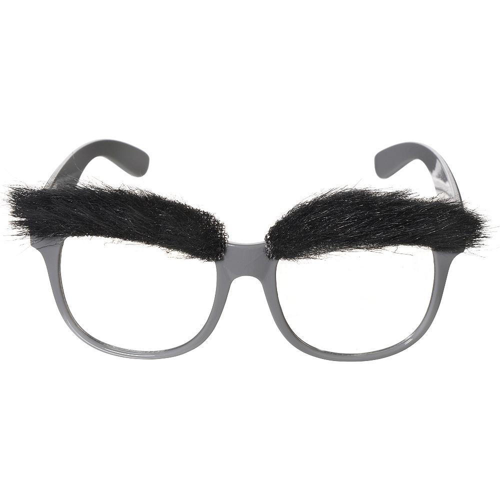 Bushy Eyebrow Glasses Image #1