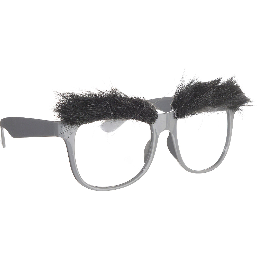 Bushy Eyebrow Glasses Image #2
