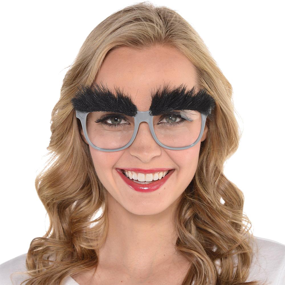 Bushy Eyebrow Glasses Image #3