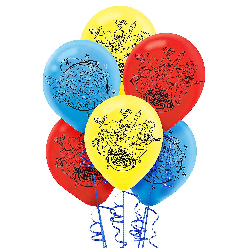 DC Super Hero Girls Balloons 6ct Image #1