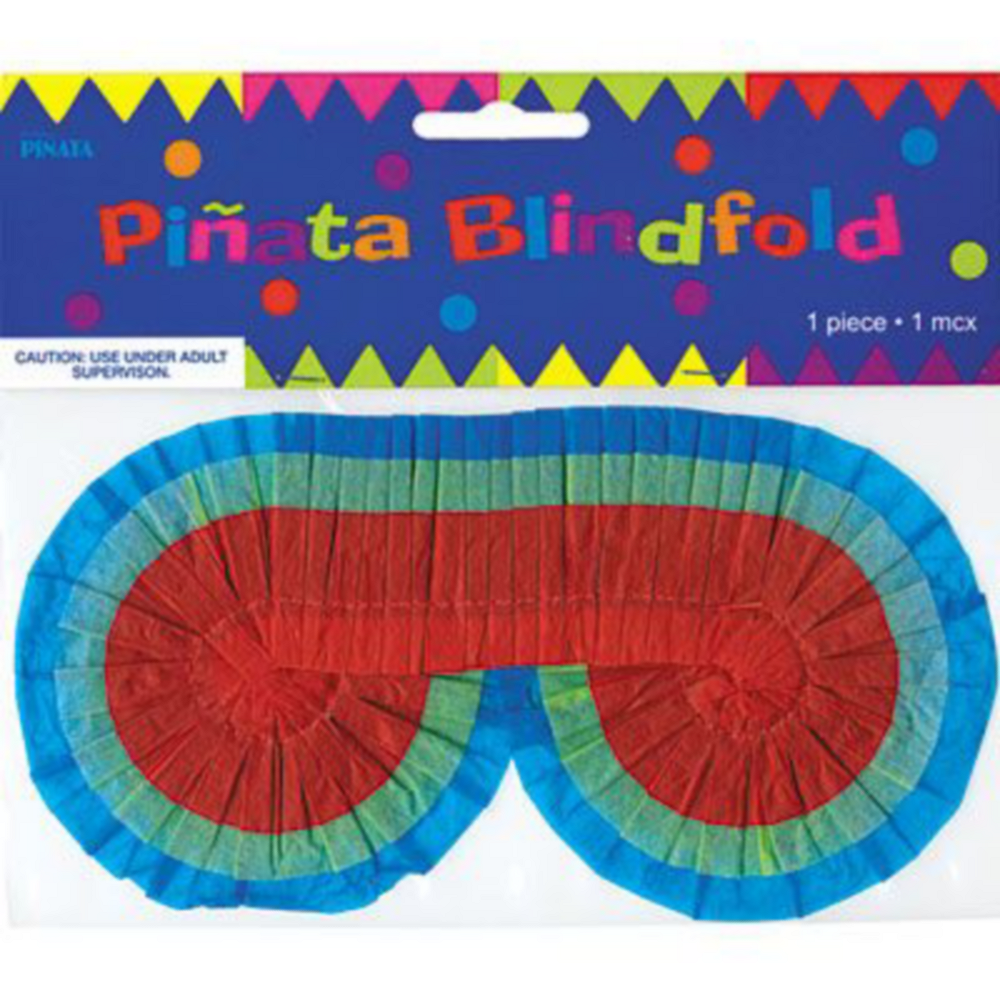 Bright Rainbow Chevron Pinata Kit Image #4