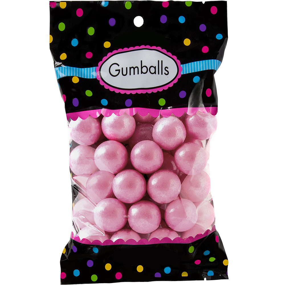 Nav Item for Pink Gumballs 48pc Image #1