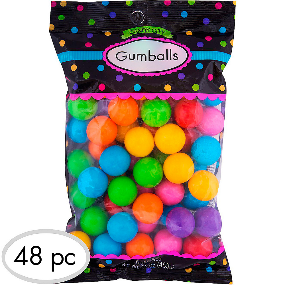 Rainbow Gumballs 48pc Image #1