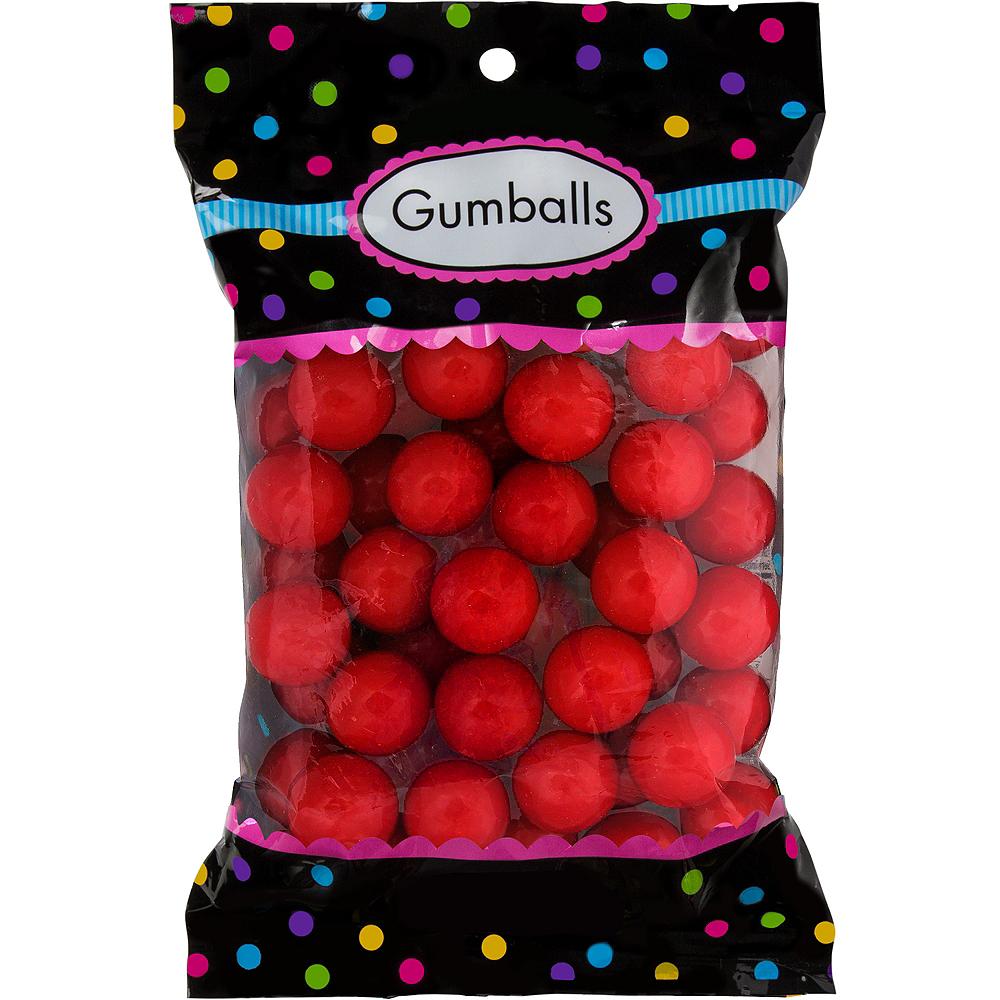 Red Gumballs 48pc Image #1