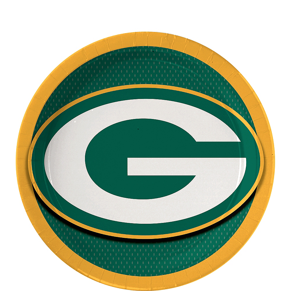 Green Bay Packers Dessert Plates 18ct Image #1