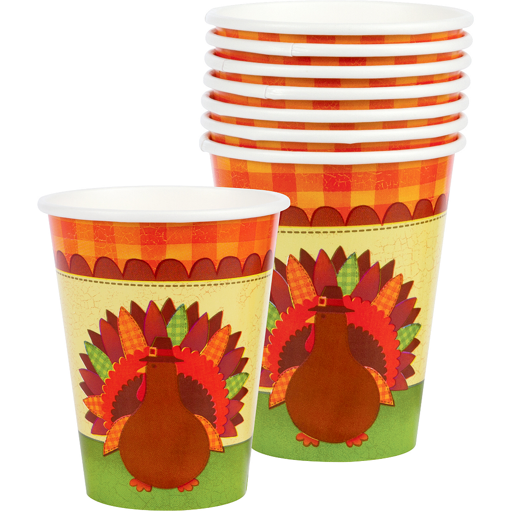 Turkey Dinner Cups 18ct Image #1