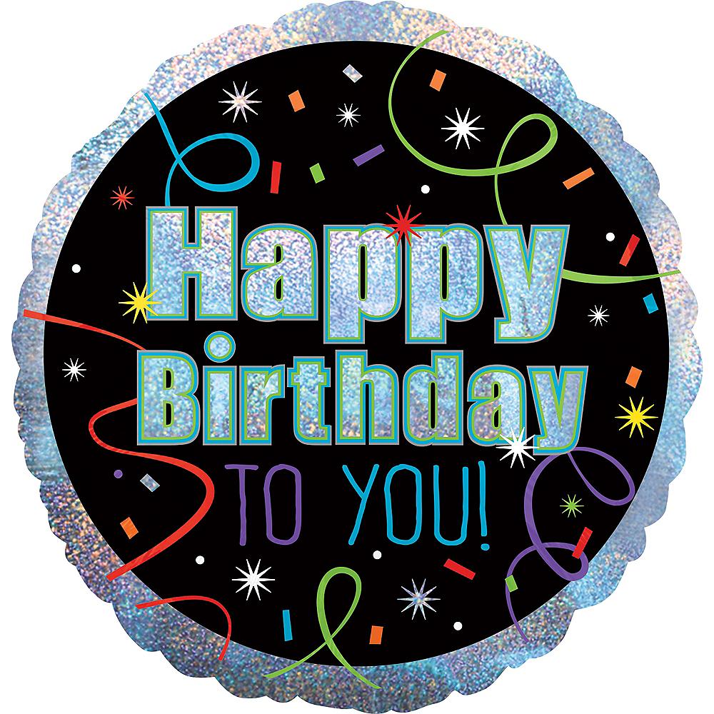 Brilliant 21st Birthday Balloon 18in Image #2