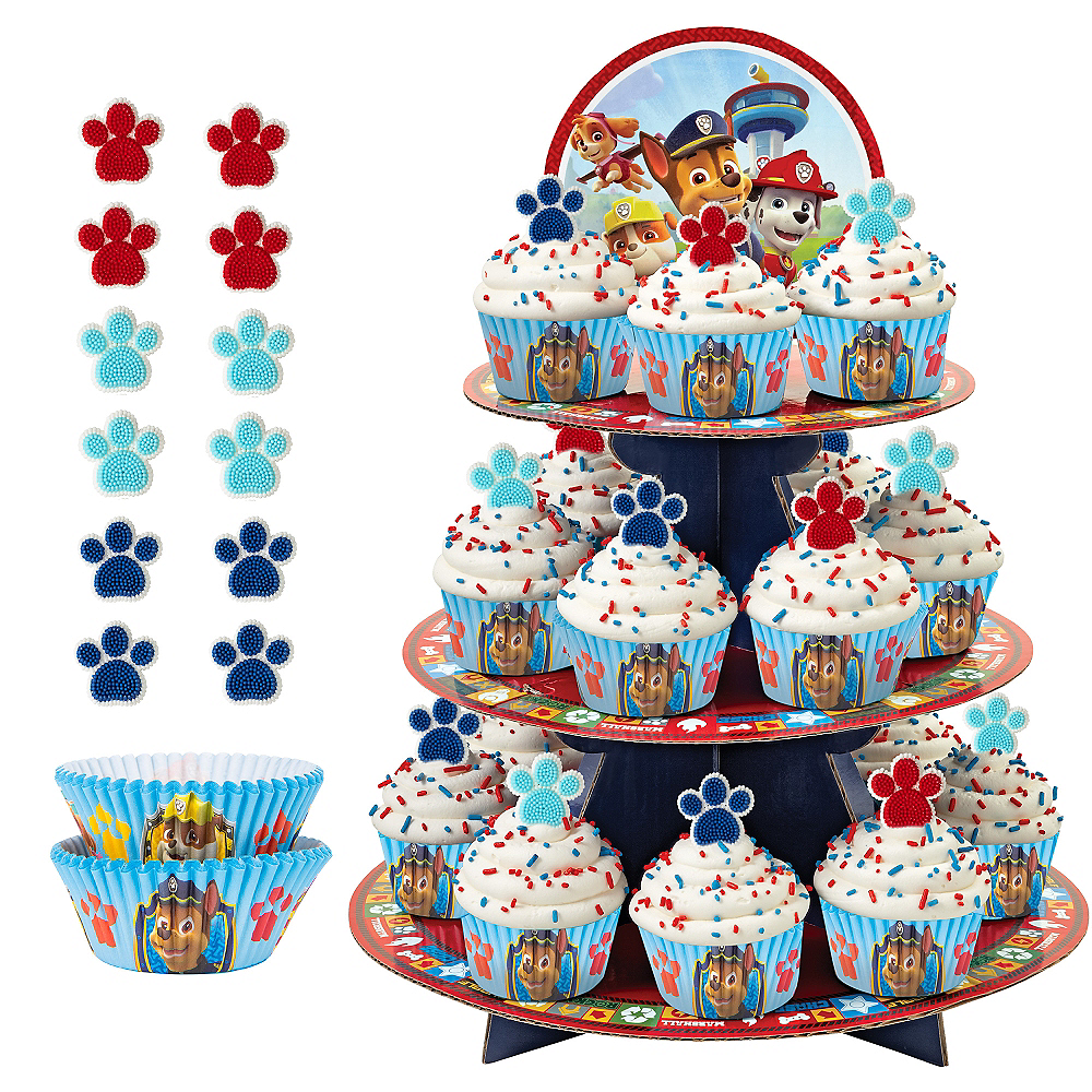 Deluxe PAW Patrol Cupcake Kit For 24 Image 1