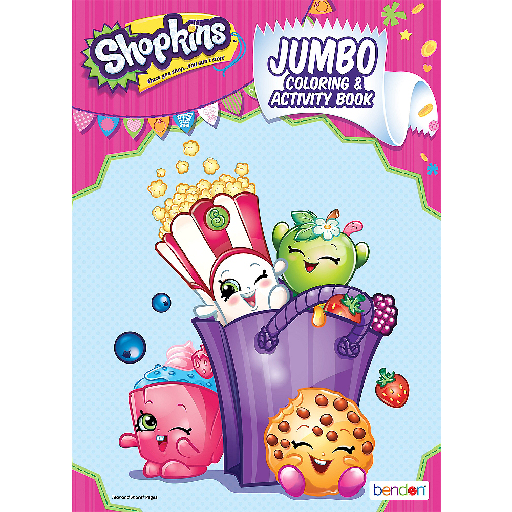 Shopkins Coloring & Activity Book Image #1