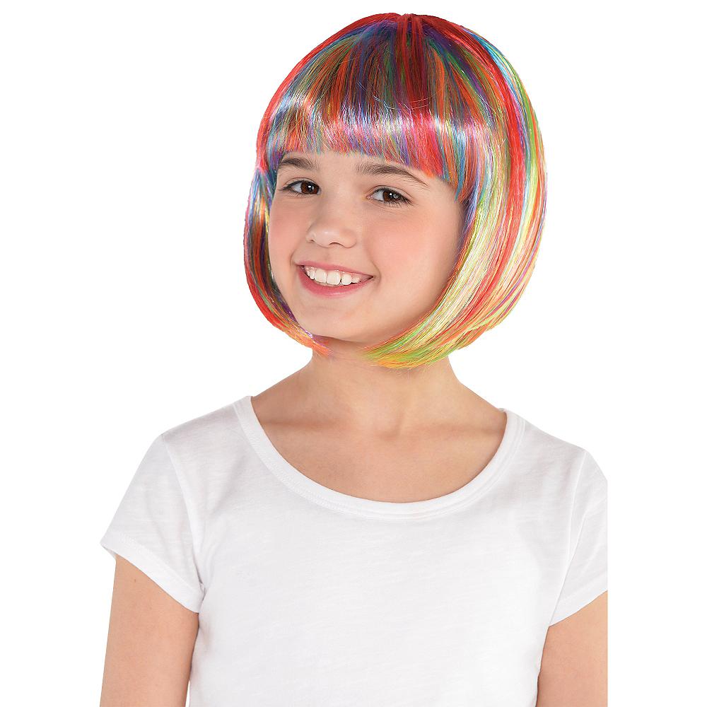 Rainbow Bob Wig Image #2