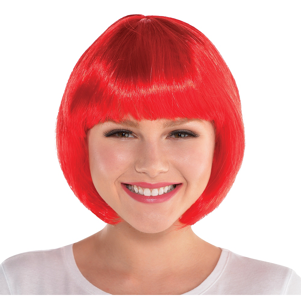 Red Bob Wig Image #1