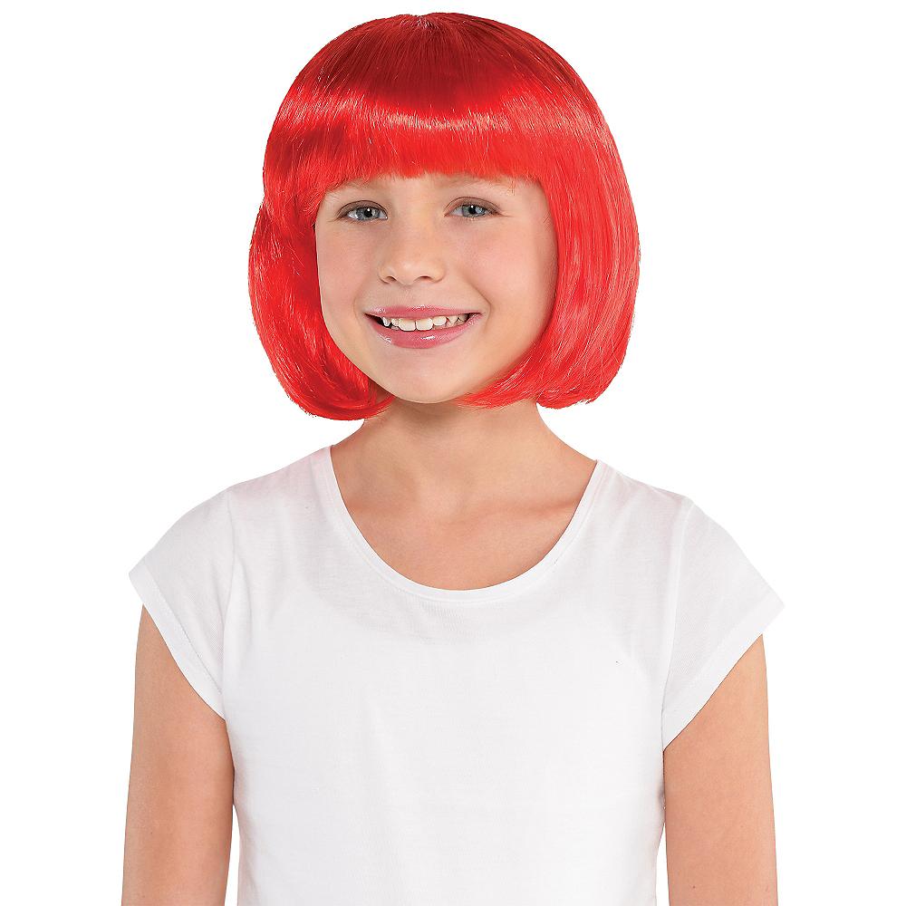 Red Bob Wig Image #2