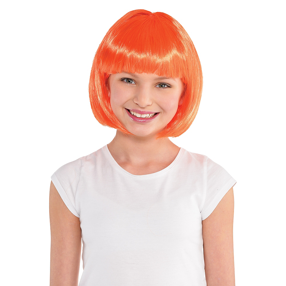 Nav Item for Orange Bob Wig Image #2