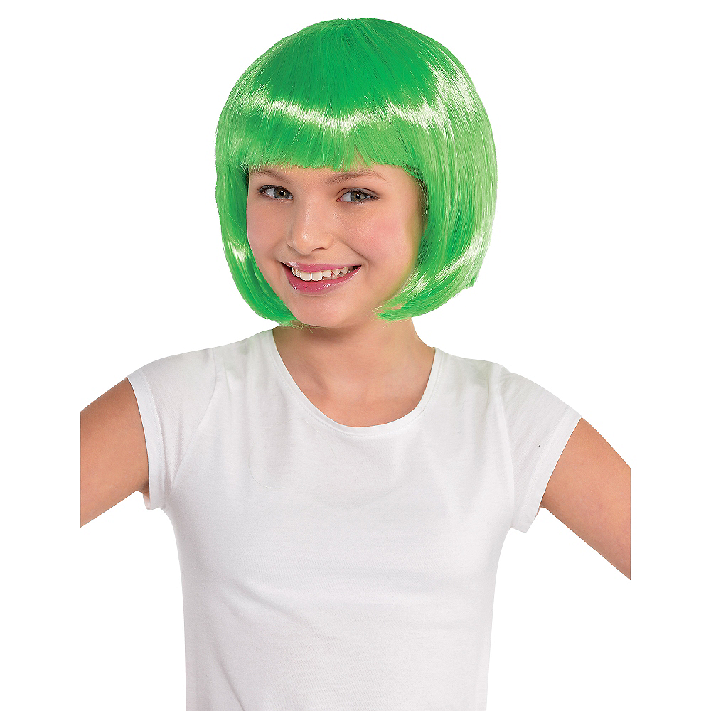 Nav Item for Green Bob Wig Image #2