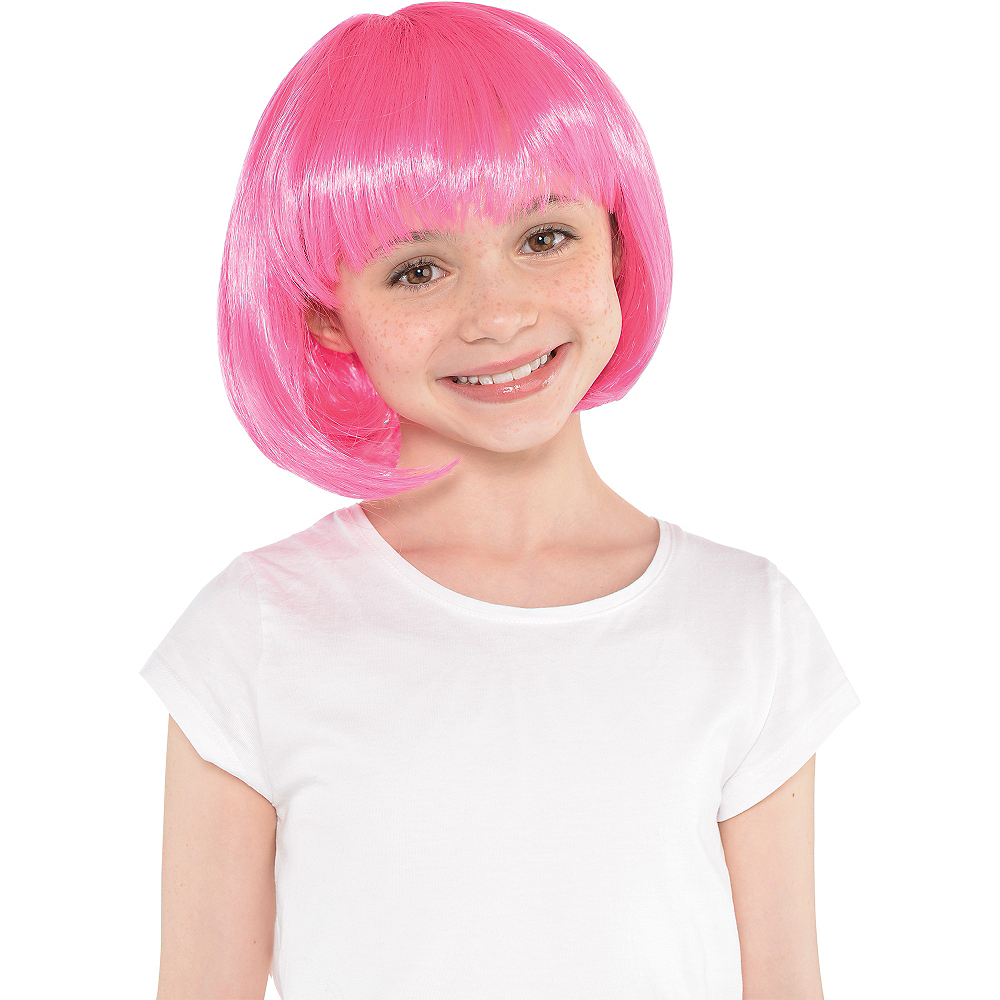 Pink Bob Wig Image #2