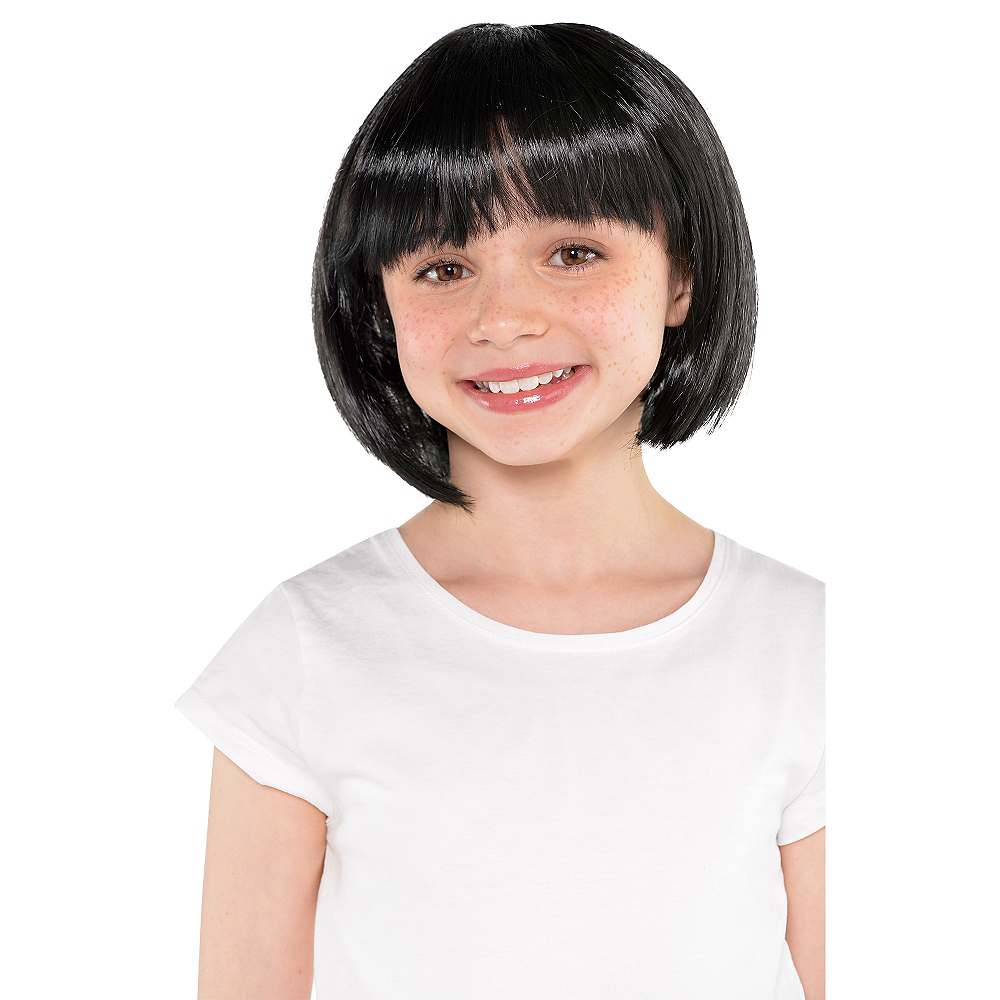 Nav Item for Black Bob Wig Image #2