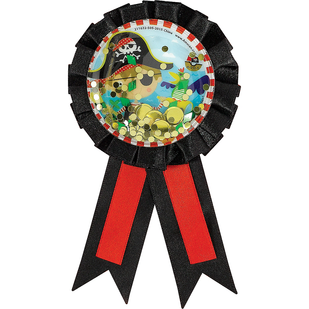 Little Pirate Award Ribbon Image #1