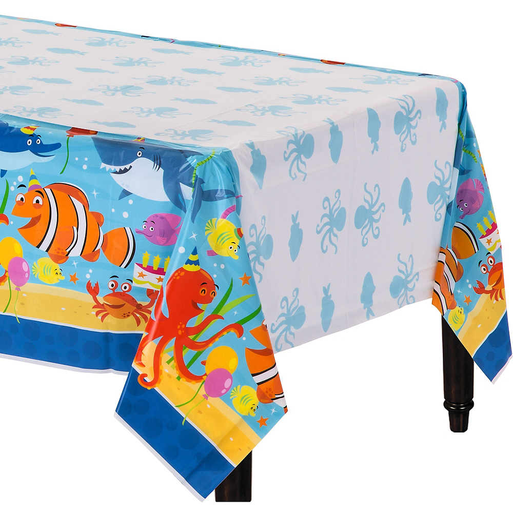 Under the Sea Birthday Table Cover Image #1