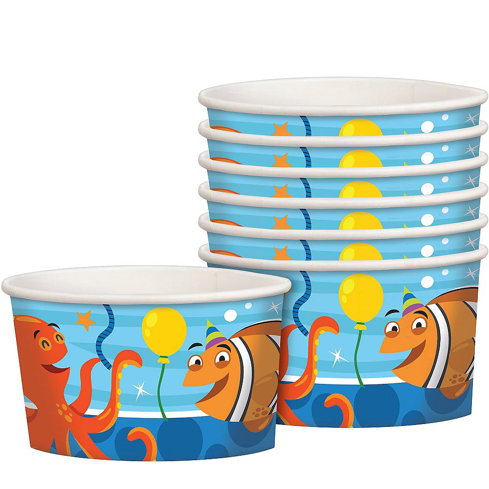 Under the Sea Birthday Treat Cups 8ct Image #1