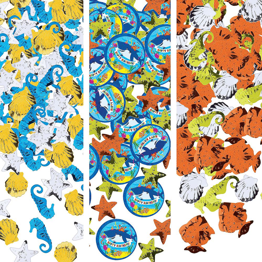Under the Sea Birthday Confetti Image #1