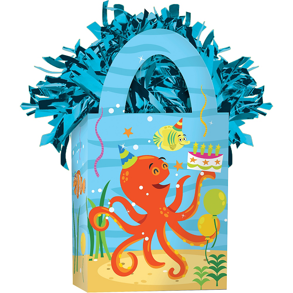 Nav Item for Under the Sea Birthday Balloon Weight Image #1